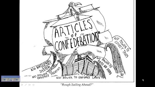 articles of confederation and us constitution differences